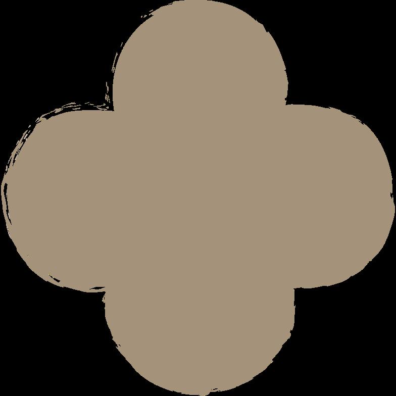 quatrefoil-grey Clipart illustration in PNG, SVG
