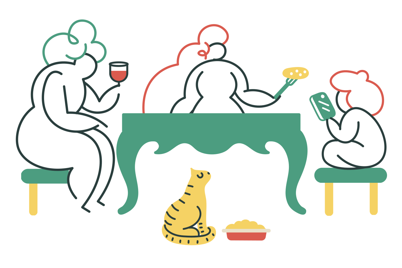 style Family dinner Vector images in PNG and SVG   Icons8 Illustrations