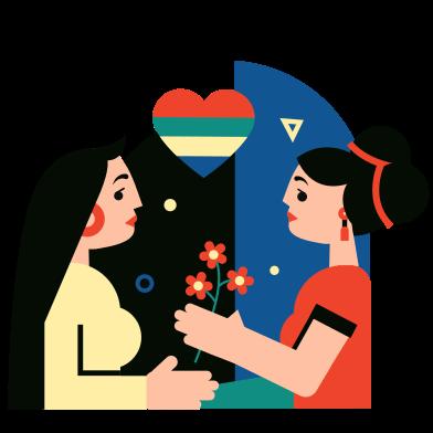Иллюстрация Любовь в стиле  в PNG и SVG | Icons8 Иллюстрации