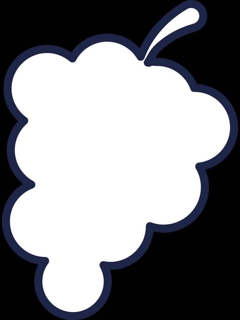 grape Clipart illustration in PNG, SVG