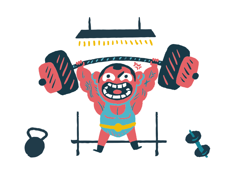 Training Clipart illustration in PNG, SVG