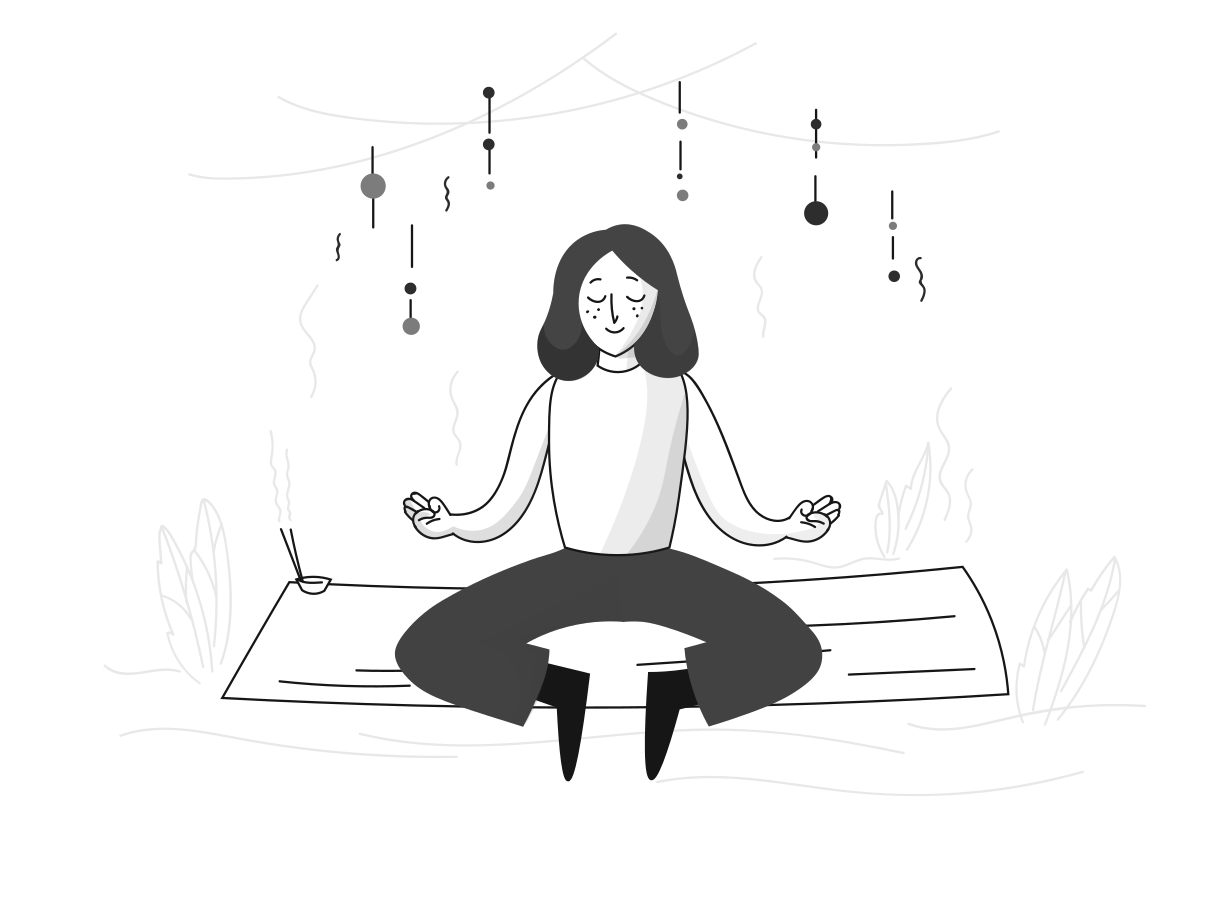 style Meditation Vector images in PNG and SVG | Icons8 Illustrations