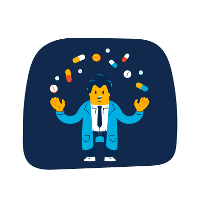 style Pharmacy assistant images in PNG and SVG | Icons8 Illustrations