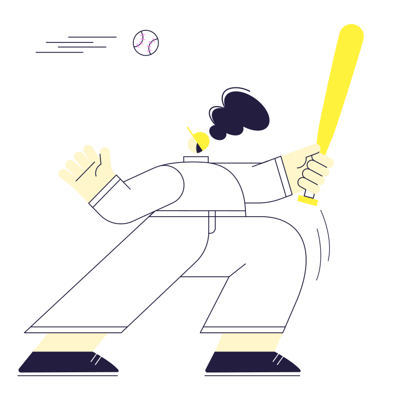style Kick, Serve! Vector images in PNG and SVG | Icons8 Illustrations