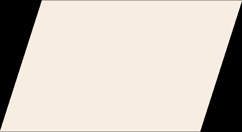 Parallelogramm-beige Clipart-Grafik als PNG, SVG