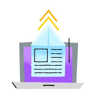 style Uploading images in PNG and SVG | Icons8 Illustrations