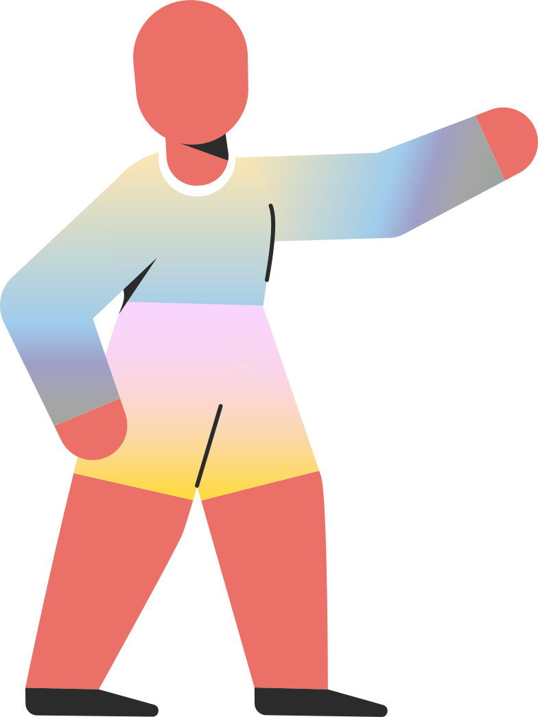 child pointing Clipart illustration in PNG, SVG