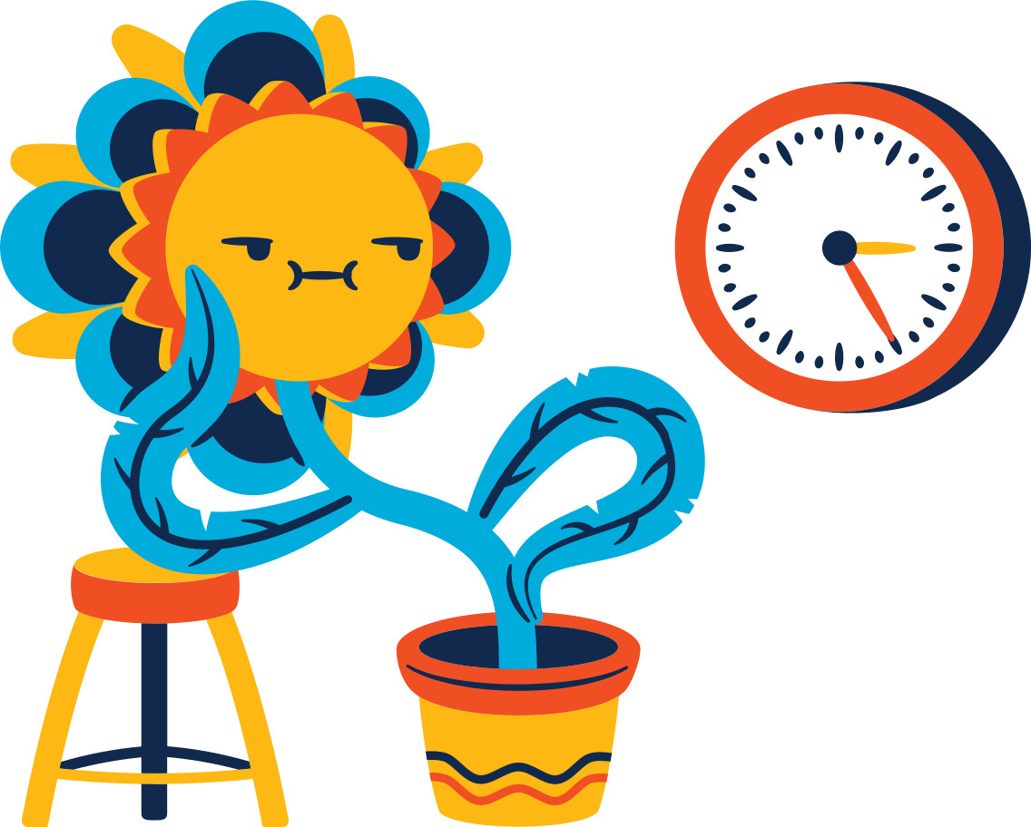 Waiting Clipart illustration in PNG, SVG