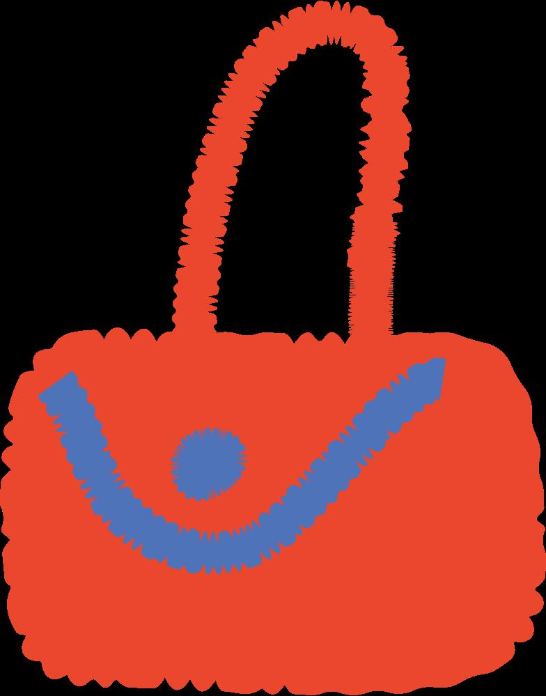ladies handbag Clipart illustration in PNG, SVG