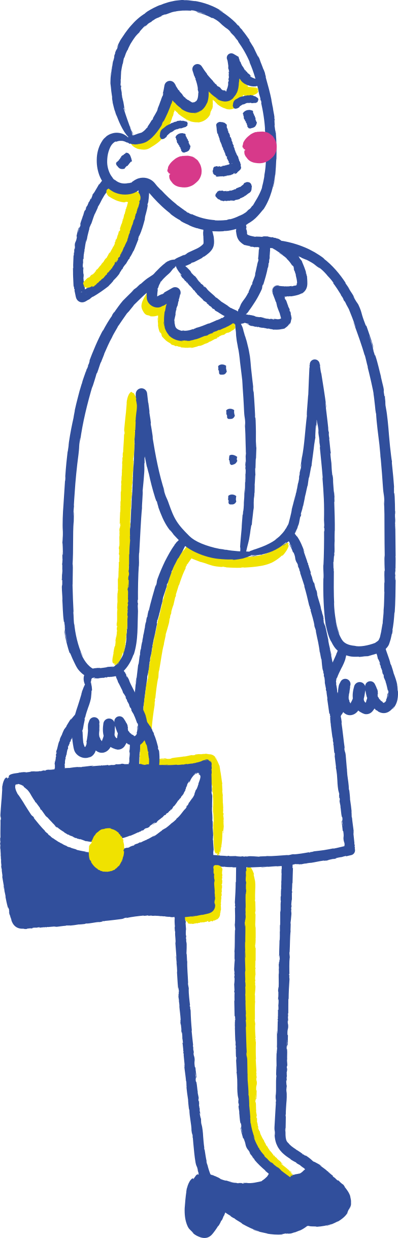 businesswoman Clipart illustration in PNG, SVG