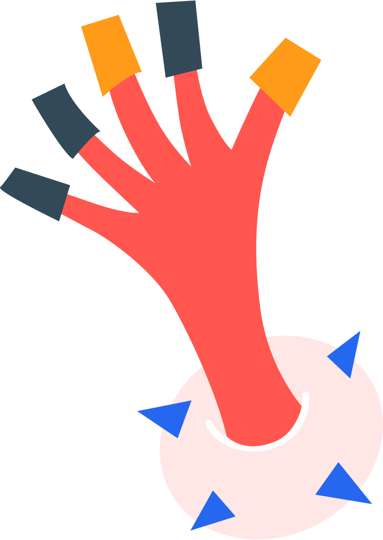 left hand prep queen Clipart illustration in PNG, SVG