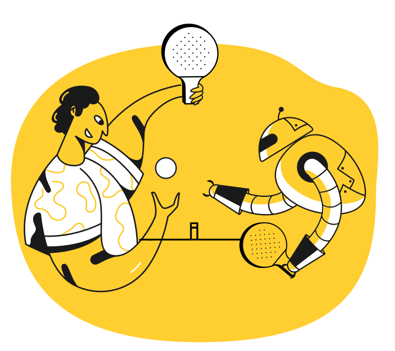 Table tennis Clipart illustration in PNG, SVG