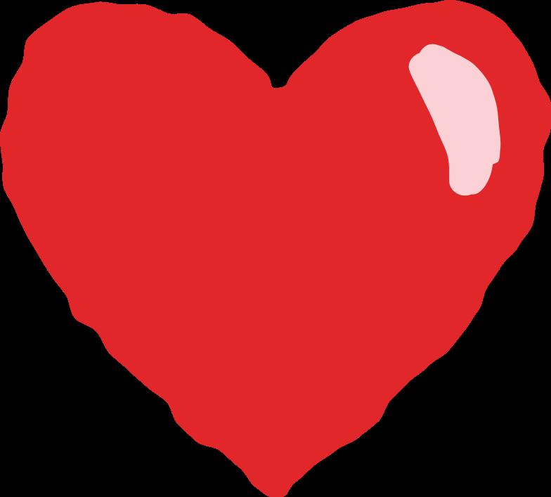 Herz Clipart-Grafik als PNG, SVG