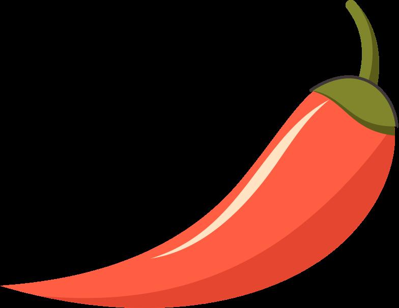 hot pepper Clipart illustration in PNG, SVG