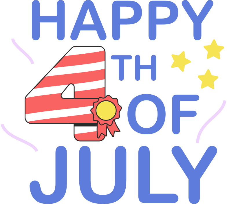 style happy 4th of july Vector images in PNG and SVG | Icons8 Illustrations