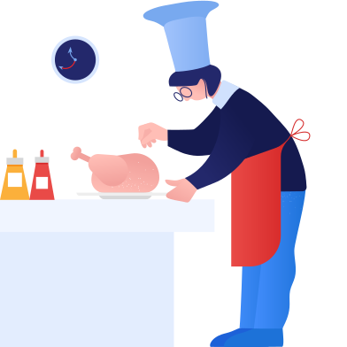 style Cooking turkey images in PNG and SVG | Icons8 Illustrations