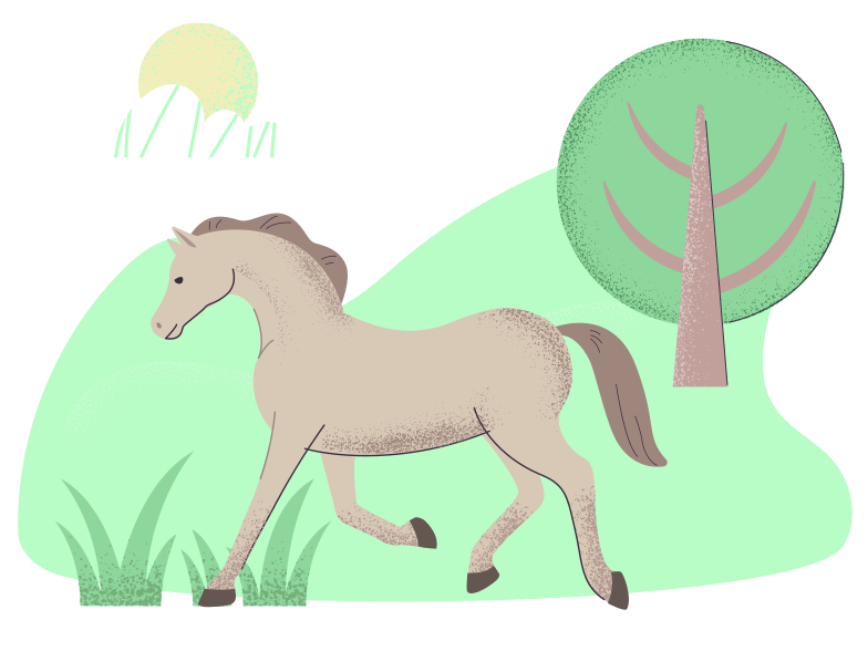 style Wild horse Vector images in PNG and SVG | Icons8 Illustrations