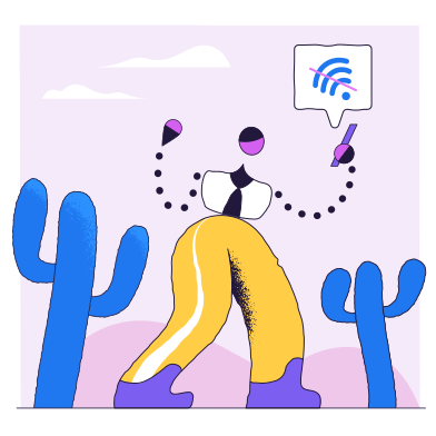 style Pas de connection images in PNG and SVG | Icons8 Illustrations