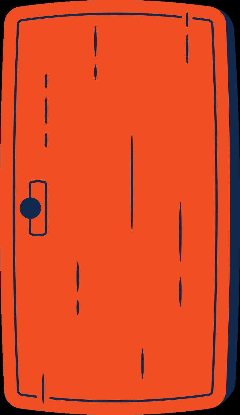 door Clipart illustration in PNG, SVG