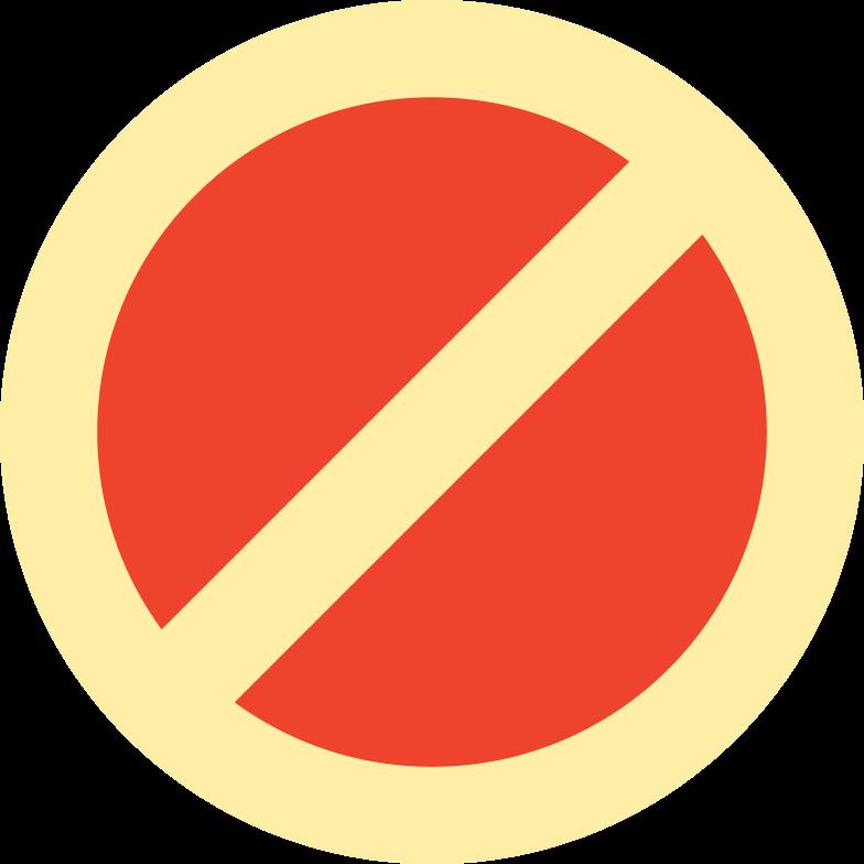 stop sign Clipart illustration in PNG, SVG