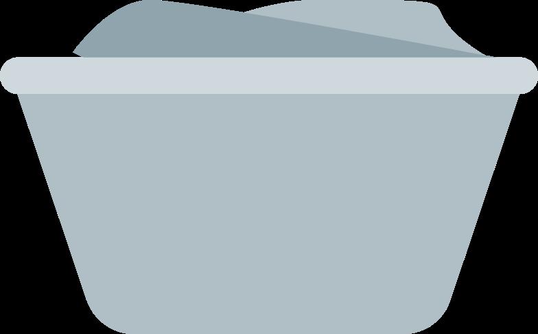 laundry basket Clipart illustration in PNG, SVG