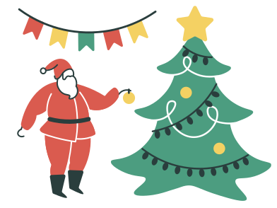 style Christmas images in PNG and SVG | Icons8 Illustrations