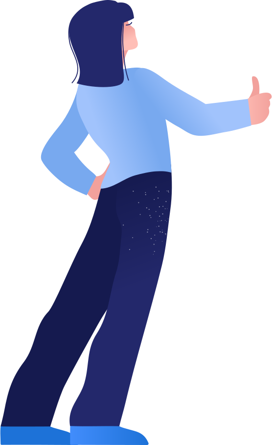 woman on the road Clipart illustration in PNG, SVG