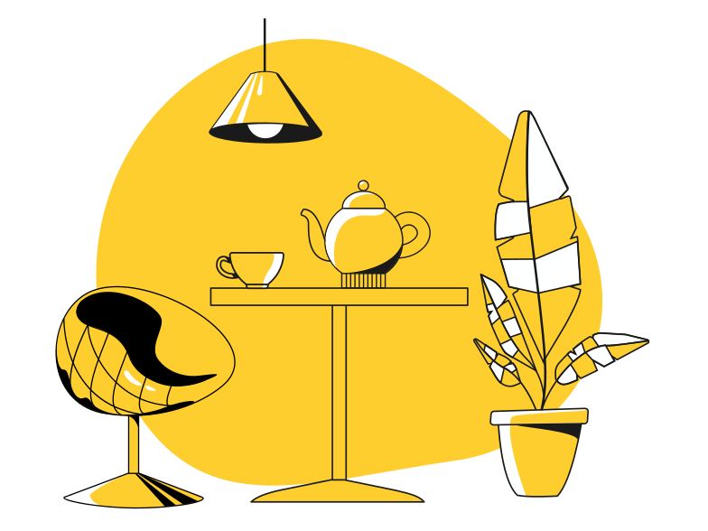 style Cafe interior Vector images in PNG and SVG | Icons8 Illustrations