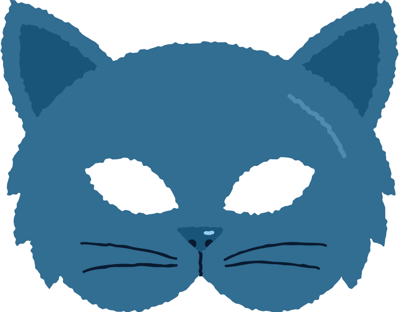 style mask cat Vector images in PNG and SVG | Icons8 Illustrations