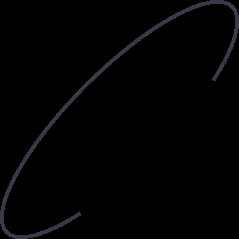 orbit Clipart illustration in PNG, SVG