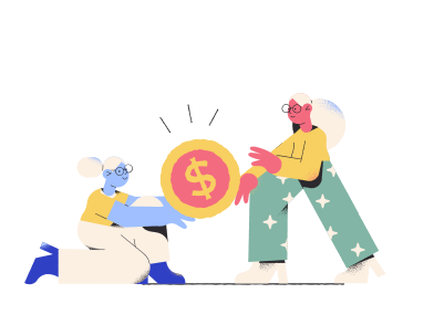 style Fighting over money  images in PNG and SVG | Icons8 Illustrations