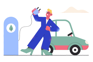 style Electrocar images in PNG and SVG | Icons8 Illustrations