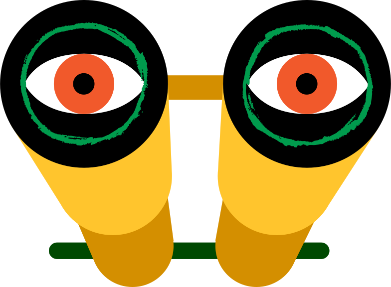 style binocular with eyes Vector images in PNG and SVG | Icons8 Illustrations