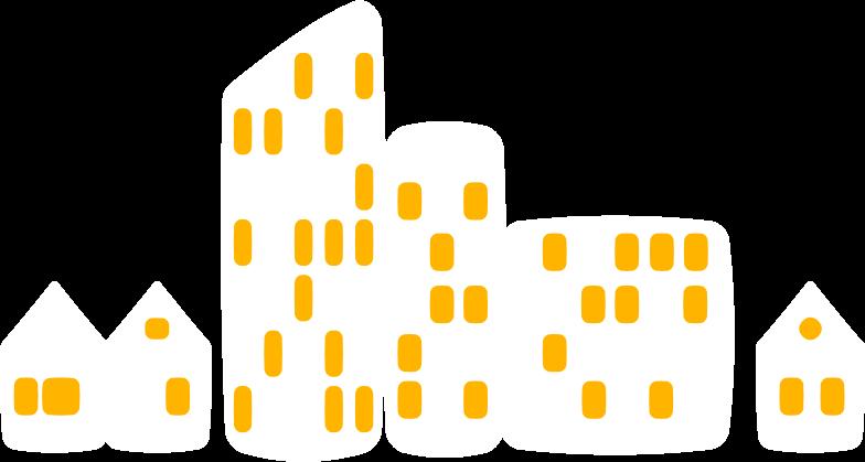 stadtbild Clipart-Grafik als PNG, SVG