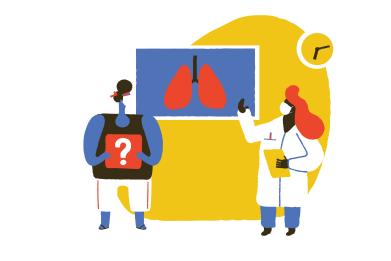 style What the virus did to my lungs? images in PNG and SVG | Icons8 Illustrations