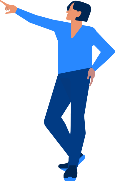 style office man showing images in PNG and SVG | Icons8 Illustrations