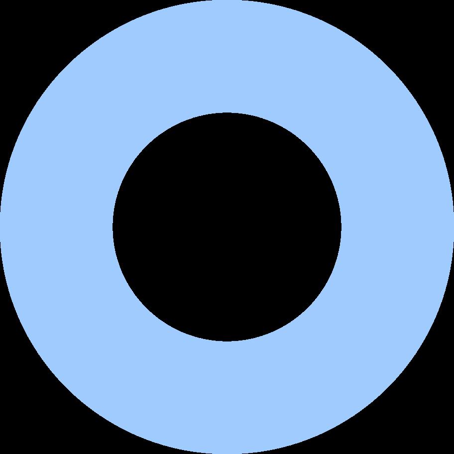 ring-light-blue Clipart illustration in PNG, SVG