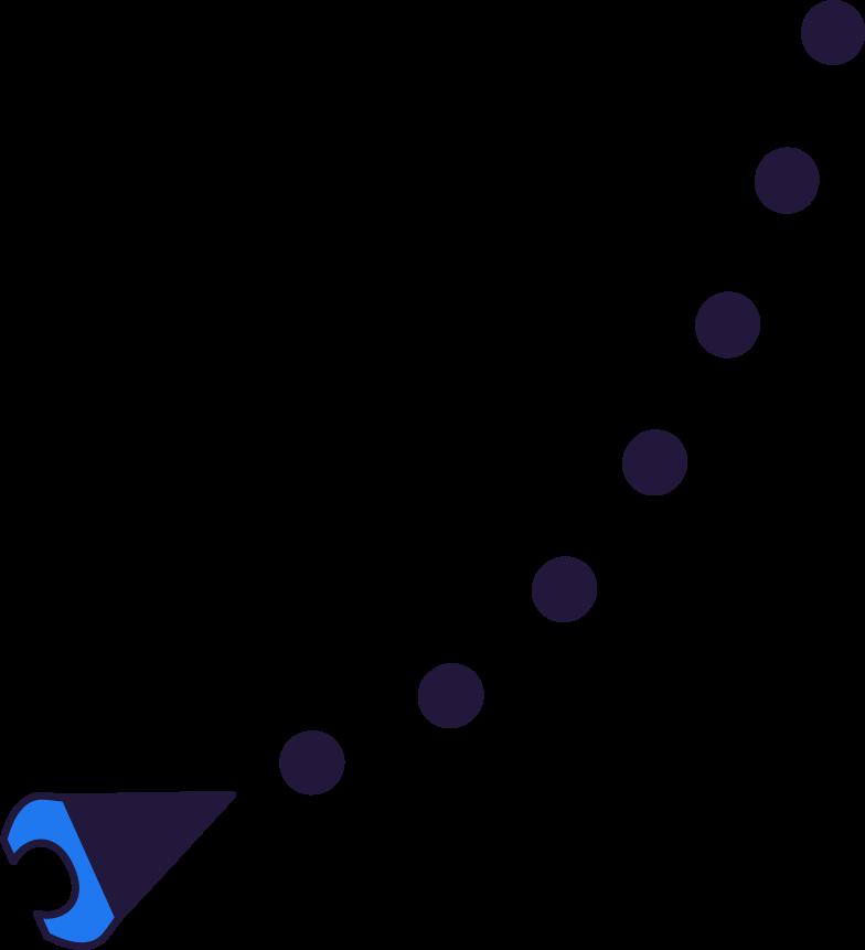 Roboterhand Clipart-Grafik als PNG, SVG