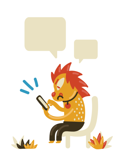 style Chatting images in PNG and SVG | Icons8 Illustrations