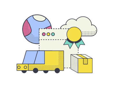 style Best delivery service  images in PNG and SVG | Icons8 Illustrations