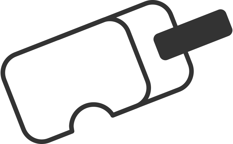 Vr virtual-reality-headset vr Clipart-Grafik als PNG, SVG