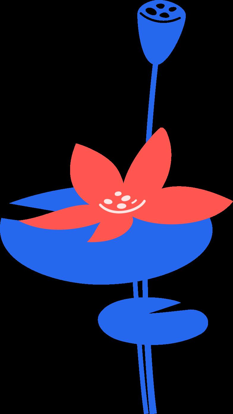 Ilustração de clipart de flores em PNG e SVG