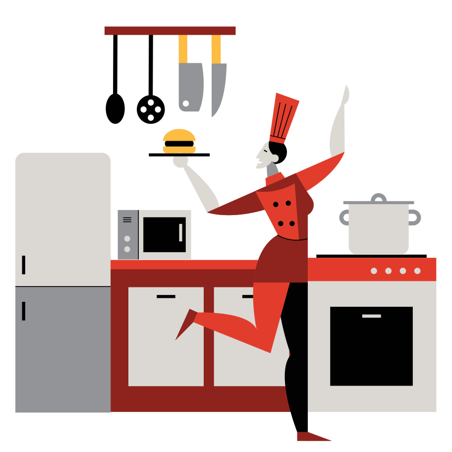 style Cook Vector images in PNG and SVG | Icons8 Illustrations