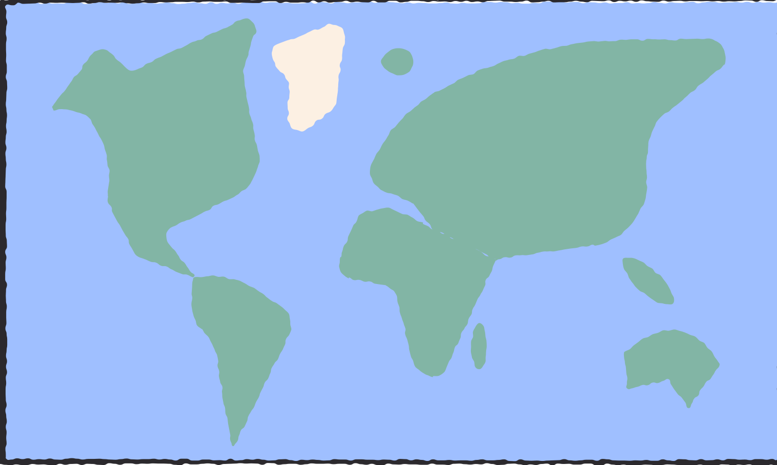 world map Clipart illustration in PNG, SVG