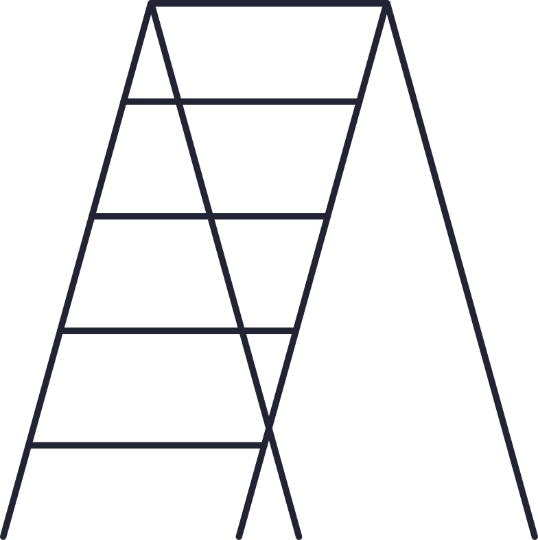 page is under construction  ladder Clipart illustration in PNG, SVG