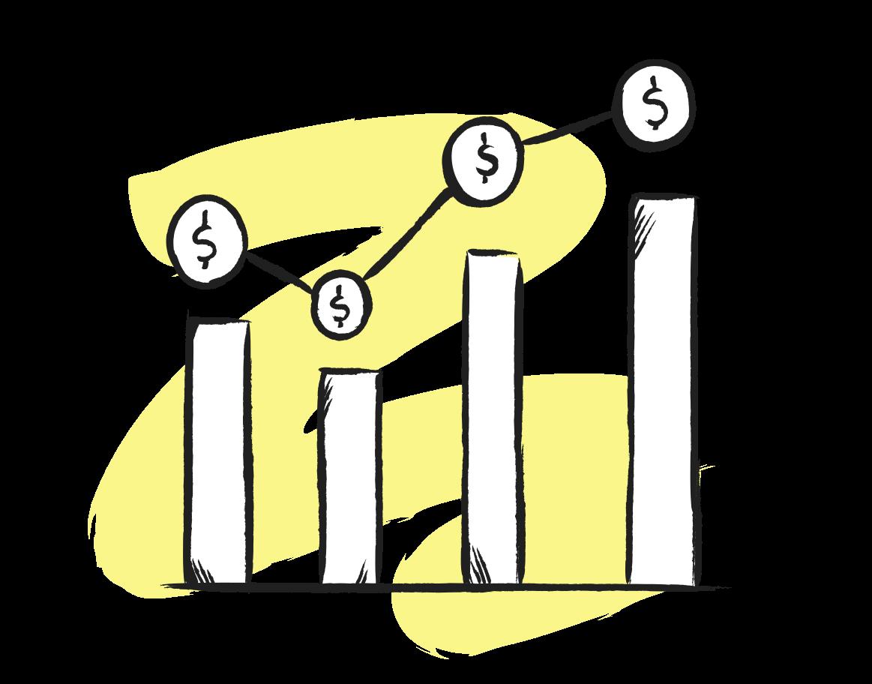 Compound interests Clipart illustration in PNG, SVG