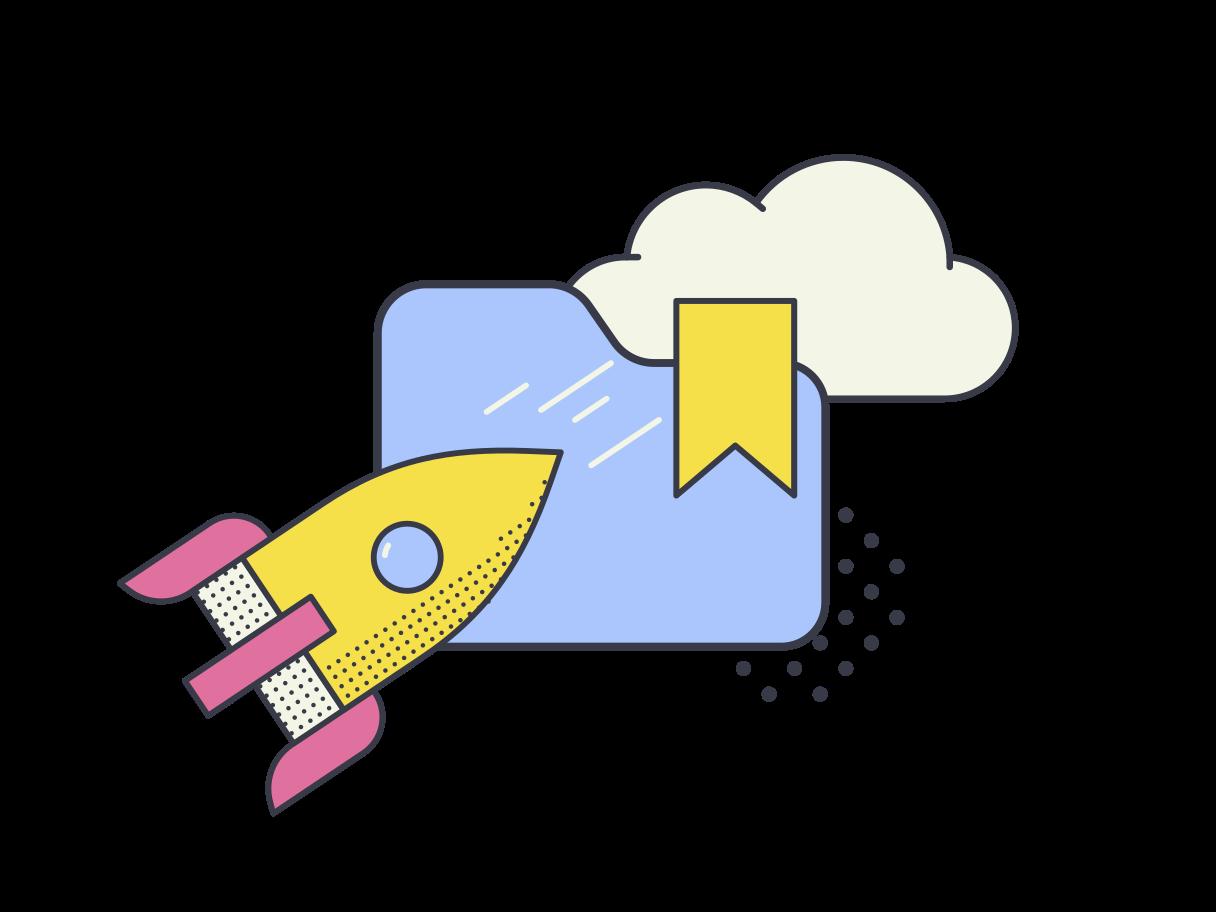 Startup concept  Clipart illustration in PNG, SVG