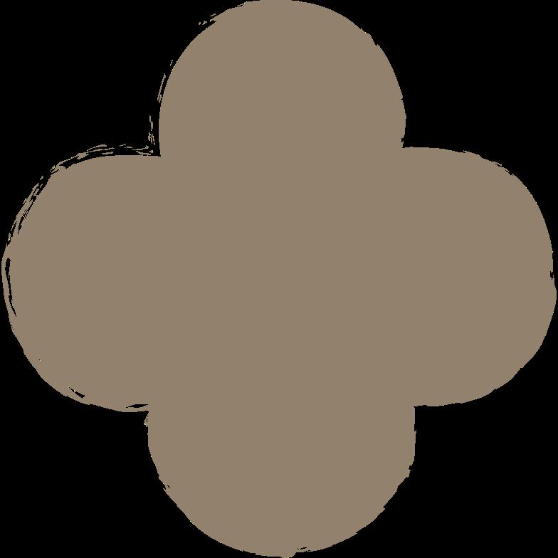 quatrefoil-dark-grey Clipart illustration in PNG, SVG