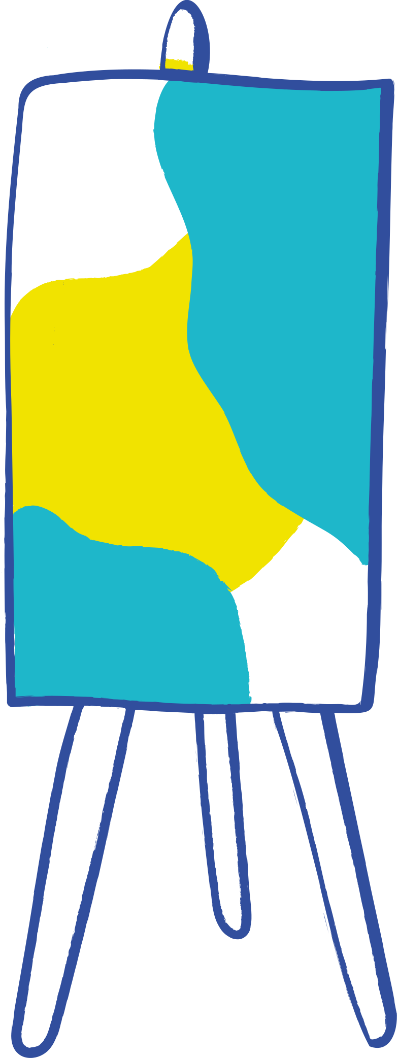 Cavalete Clipart illustration in PNG, SVG
