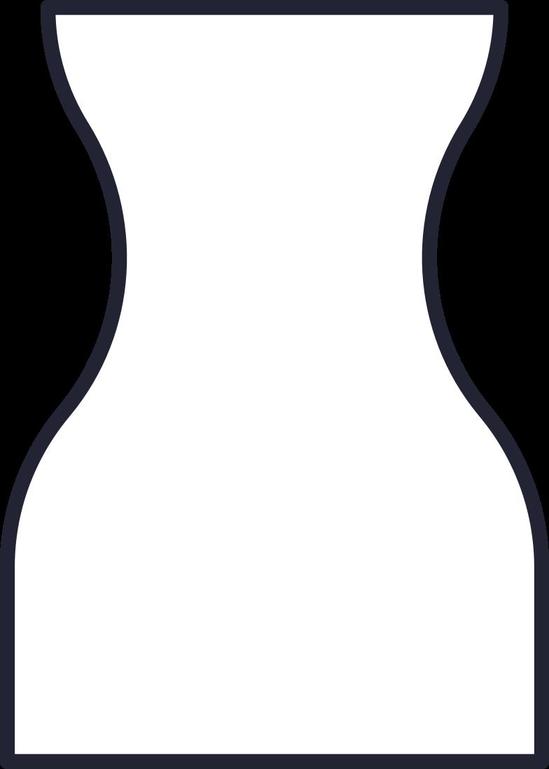 big wide vase Clipart illustration in PNG, SVG